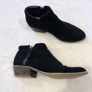 Steve Madden | Suede Black Ankle Boots Sz 7